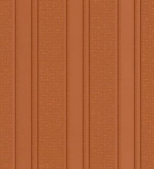 Papel pintado rayas desiguales texturizadas cobre oscuro metalizado Raya Alessandria 455861