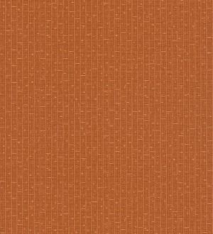 Papel pintado mosaico abstracto cobre oscuro metalizado Támesis 455865