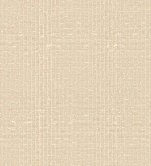 Papel pintado mosaico abstracto blanco perla Támesis 455867