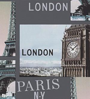 Papel pintado urbano monumentos de Londres y París Cromwell 455993