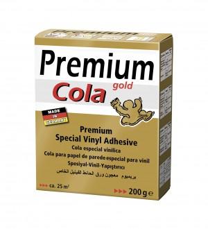 Cola profesional vinílica extrafuerte para papel pintado vinílico Cola Gold Glu 586