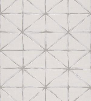Papel pintado rombos modernos con trazos desiguales Brenta 5429