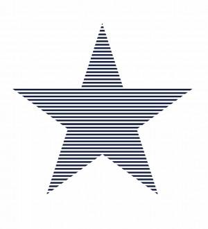 Papel pintado estrella grande infantil Lira 7332