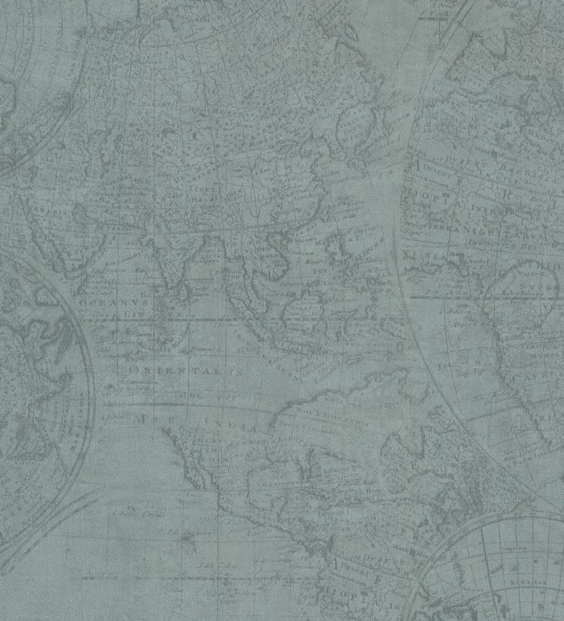 Papel pintado mapa cartogr fico vintage esquivel 7402 - Papel pintado mapa ...