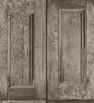 Papel pintado cuarterones imitando puertas de madera Ribamar 8353