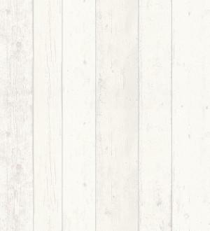 Papel pintado listones de madera blanca estilo nórdico Madeira 3 455392