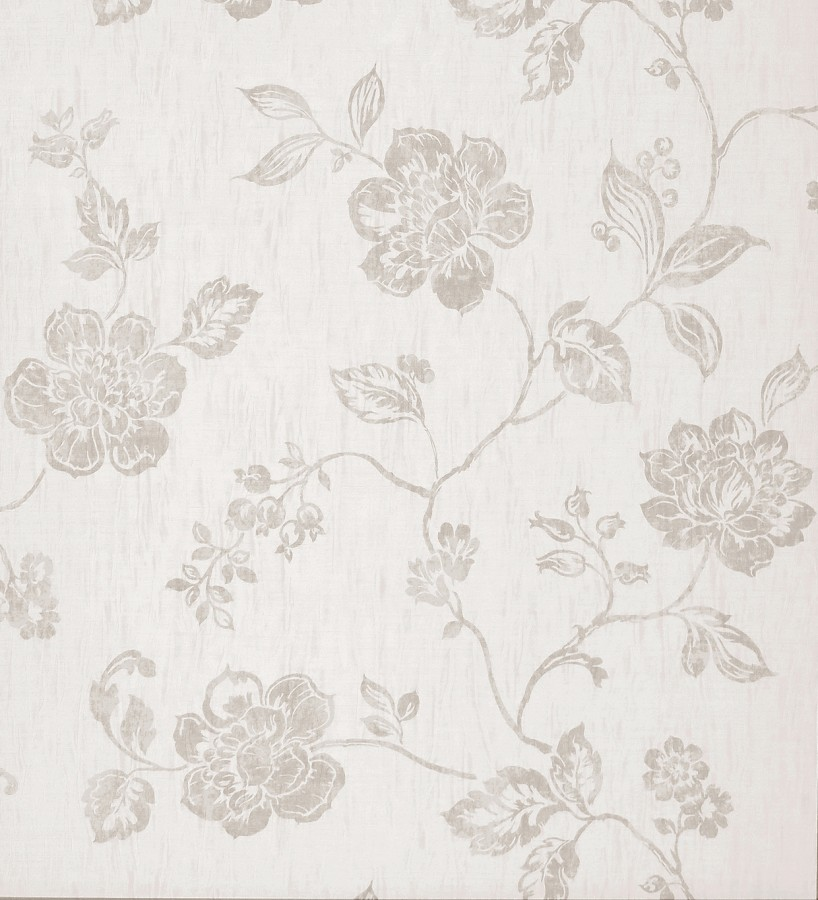 Papel pintado flores art sticas ofelia 227520 for Papel pintado de pared