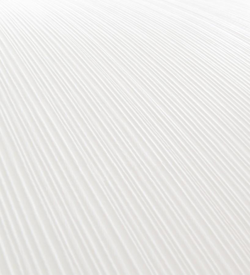 Papel pintado de textura rayada con pequeño relieve blanco Messina 421509