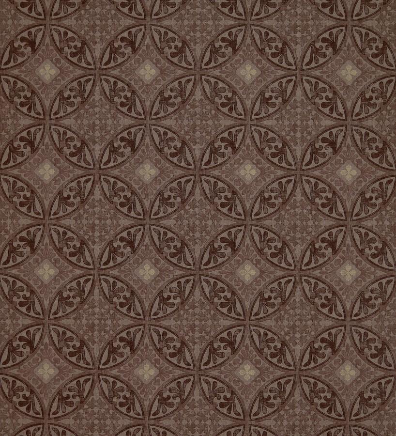 Papel pintado azulejos barrocos rabes talid 421523 for Papel pintado marron oscuro