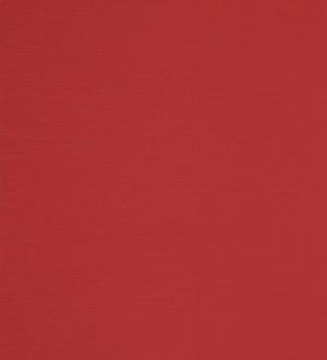 Papel pintado de textura imitación papel vegetal rojo Carmine 421525