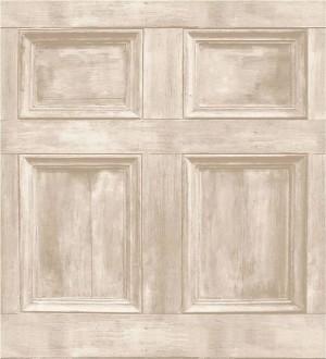 Papel pintado cuarterones de madera rústicos Galeone 421568