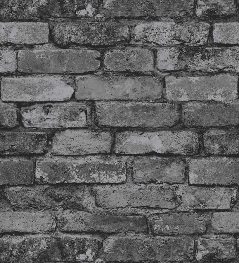 Papel pintado muro de ladrillos r stico overton 421570 - Papel pintado rustico ...