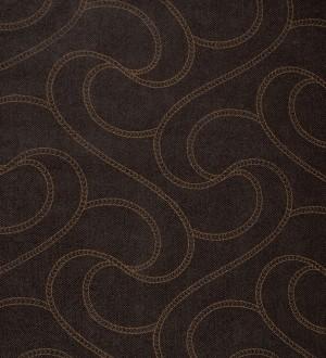 Papel pintado elegante con textura de alta calidad marrón albero fondo marrón oscuro Patrice 421643