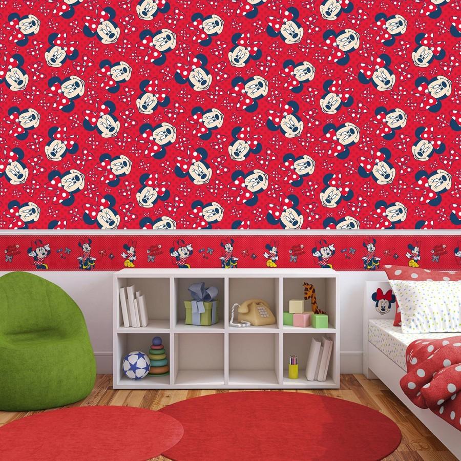 Papel pintado Minnie Faces 120089 Minnie Faces 120089