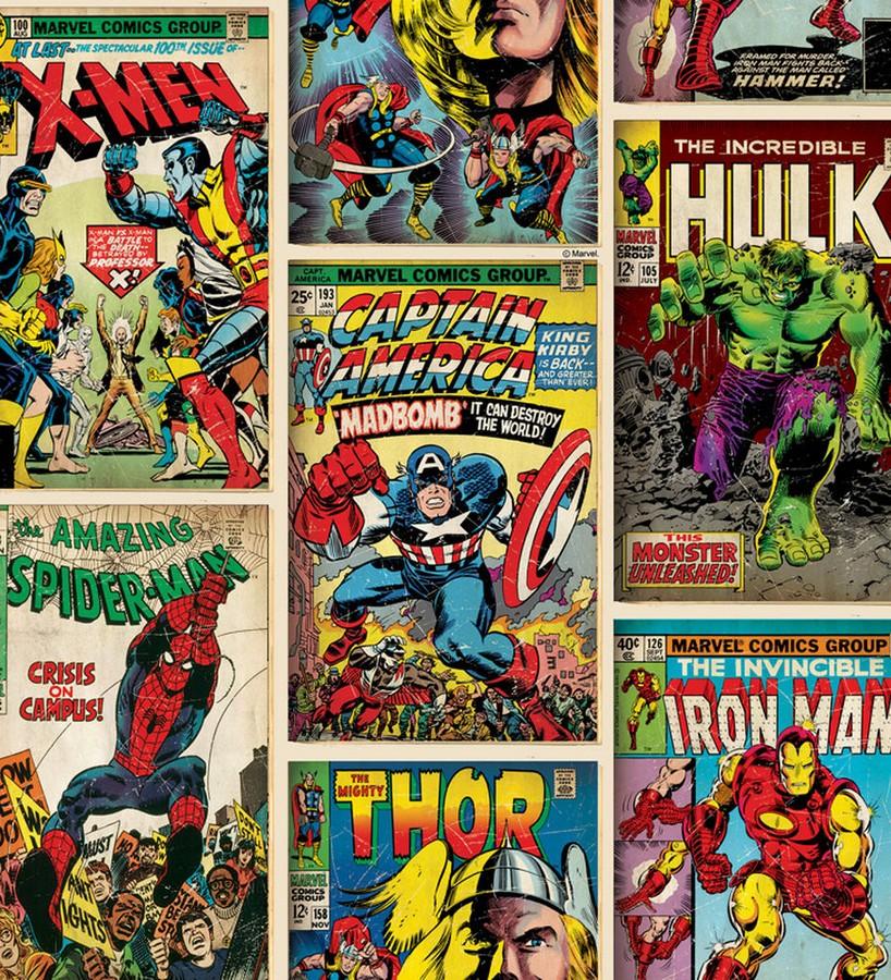 Papel pintado Amazing Heroes 120092 Amazing Heroes 120092