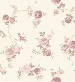 Papel pintado flores vintage vinílico Danza dei Fiori 121380