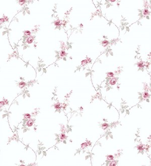 Papel pintado pequeñas flores estilo vintage Emma Flowers 121400