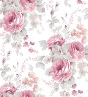 Papel pintado flores grandes románticas vinílico Spring Flowers 121406