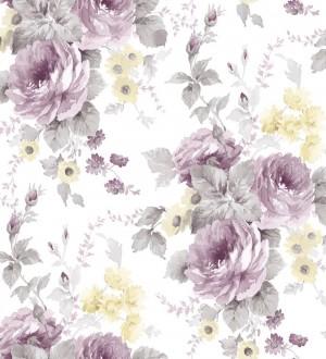 Papel pintado flores grandes románticas vinílico Spring Flowers 121409