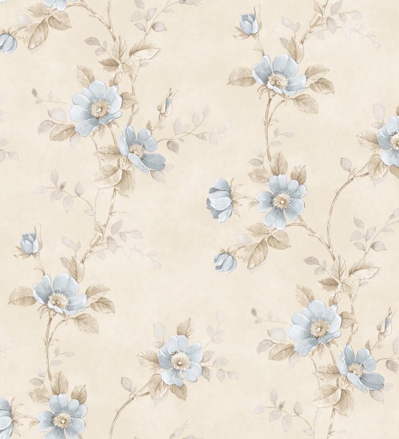 Papel pintado flores estilo vintage vin lico april flowers 121416 - Papel pintado estilo vintage ...