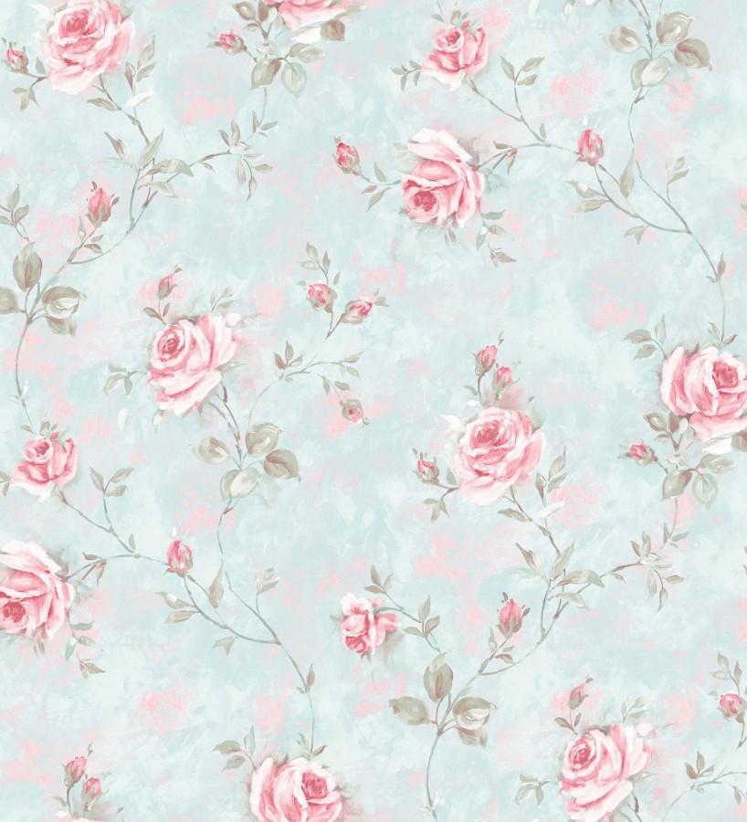 Papel pintado flores estilo vintage vin lico april flowers 121418 - Papeles pintados vintage ...