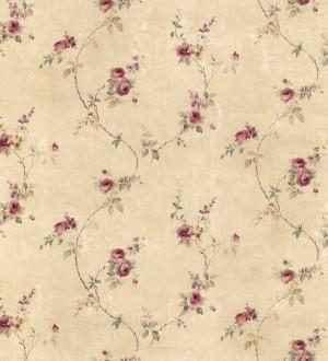 Papel pintado pequeñas flores estilo vintage Emma Flowers 121435