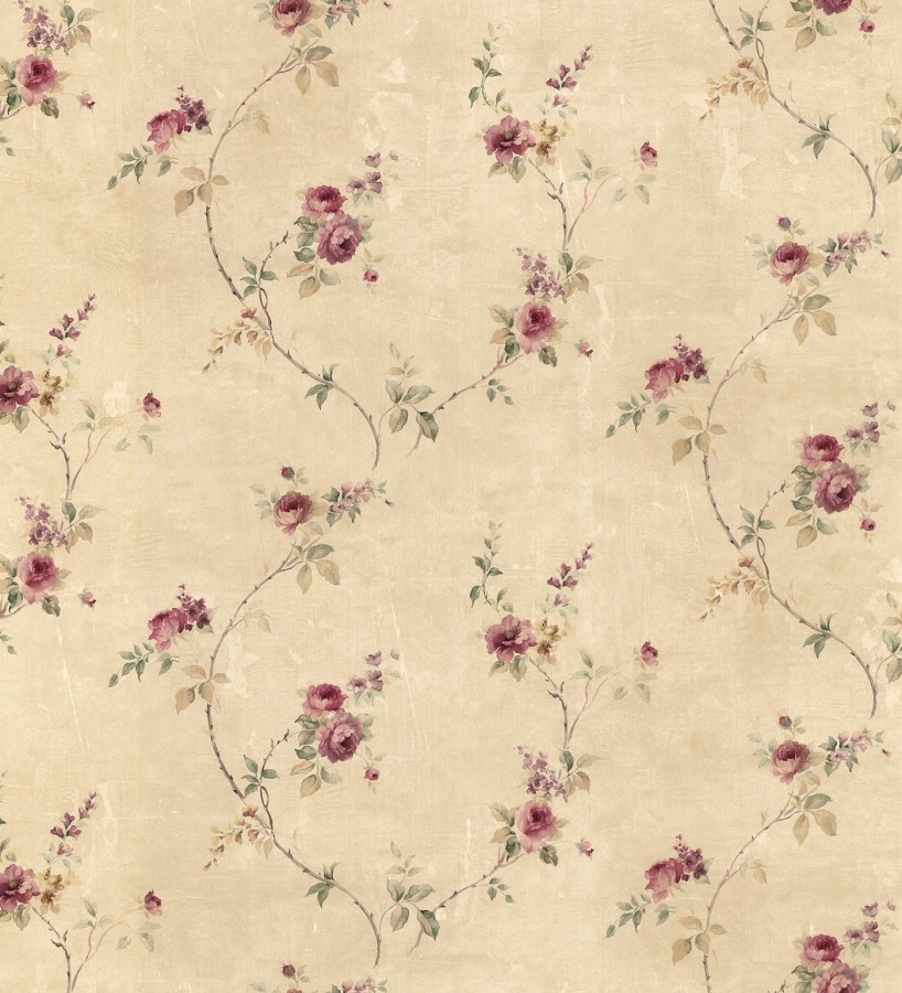 Papel pintado peque as flores estilo vintage emma flowers 121435 - Papeles pintados gaulan ...