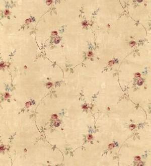 Papel pintado pequeñas flores estilo vintage Emma Flowers 121436