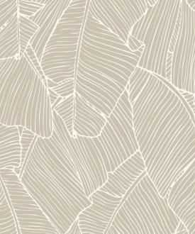 Papel pintado hojas grandes modernas estilo tropical Medellin 121015