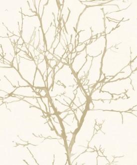 Papel pintado bosque de rboles estilo n rdico forest - Papel pintado ramas arbol ...