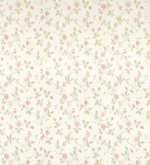 Papel pintado flores románticas estilo vintage Fleur Camille 121222