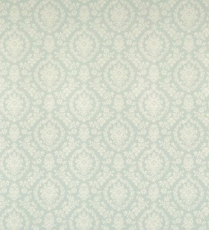 Papel pintado damasco clásico fondo celeste Palace Park 121224