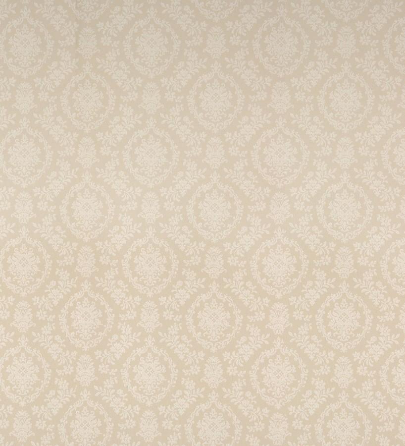 Papel pintado damasco clásico fondo beige Palace Park 121227