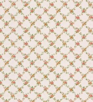 Papel pintado ornamental flores pequeñas vinílico Fiorenza 121243