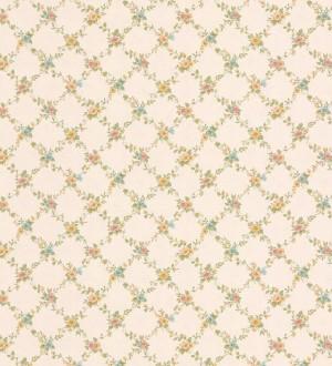Papel pintado ornamental flores pequeñas vinílico Fiorenza 121247