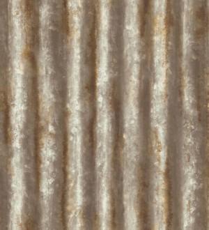 Papel pintado rayas modernas metalizadas estilo industrial Lewis 121293