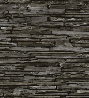 Papel pintado rústico imitación piedra Argon 121308