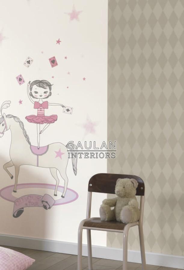 Papel pintado Casadeco Alice et Paul AEP 2810 47 11 28104711