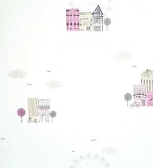 Papel pintado Casadeco Alice et Paul AEP 2804 43 25 | 28044325