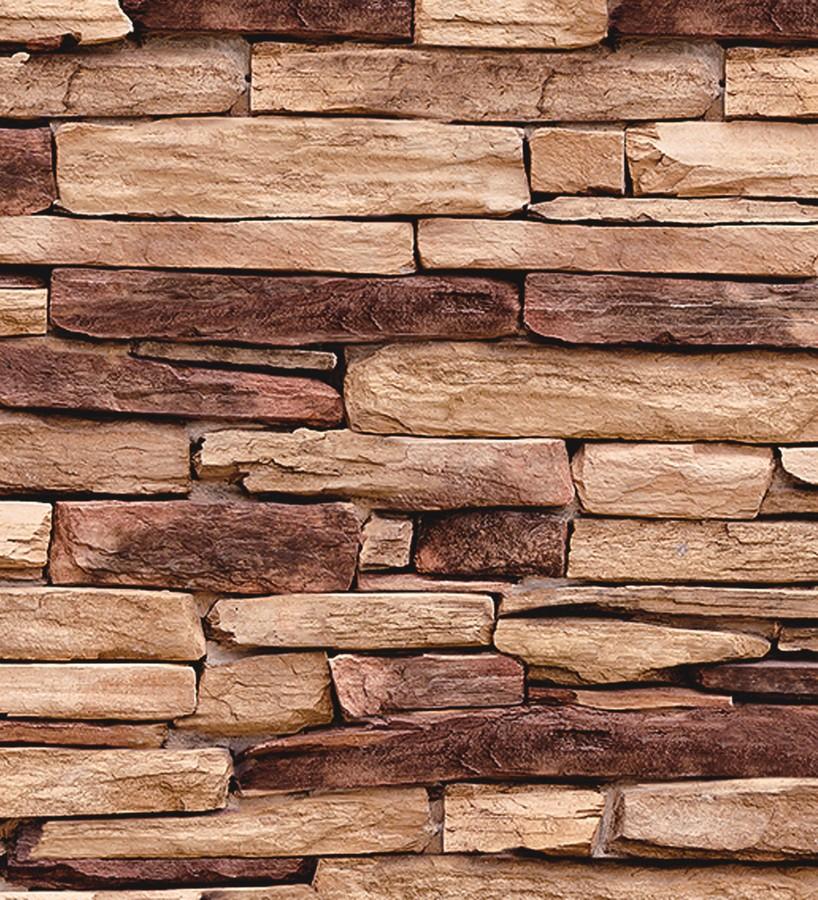 Papel pintado muro de piedra pizarra troyan hall 122366 - Piedra de pizarra ...