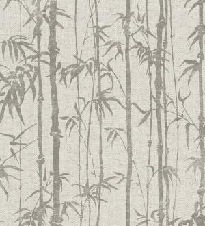 Papel pintado selva tropical de bambú Lagoa Tropical 122399