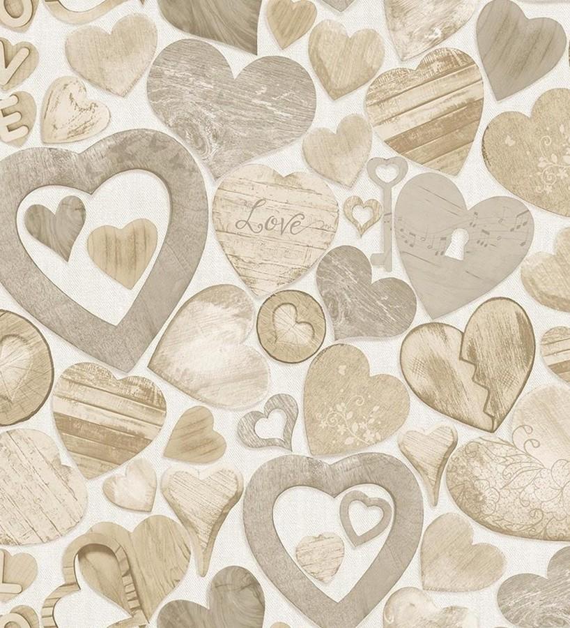 Papel pintado Heart Love 122458 Heart Love 122458