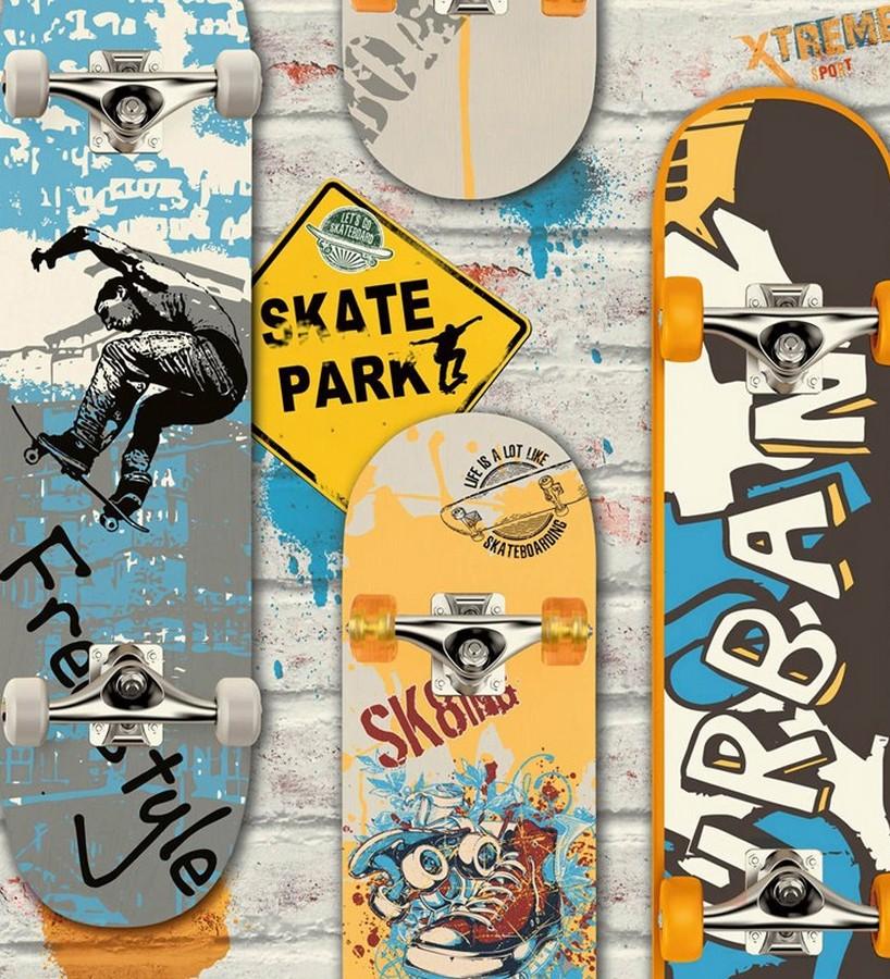 Papel pintado Skate Park 122483 Skate Park 122483