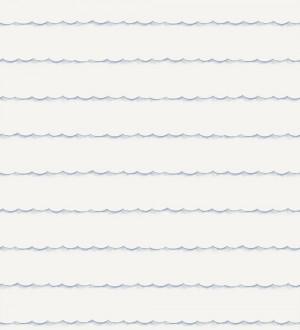 Papel pintado olas de mar infantiles azul lavanda pálido Arica 232116