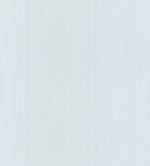 Papel pintado rayas de topitos pequeños blanco fondo celeste aguamarina Raya Baby Clouds 232147