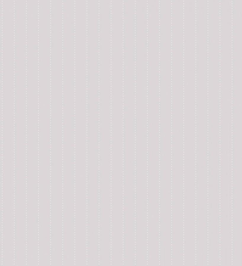 Papel pintado rayas de topitos pequeños blanco fondo gris claro Raya Baby Clouds 232148