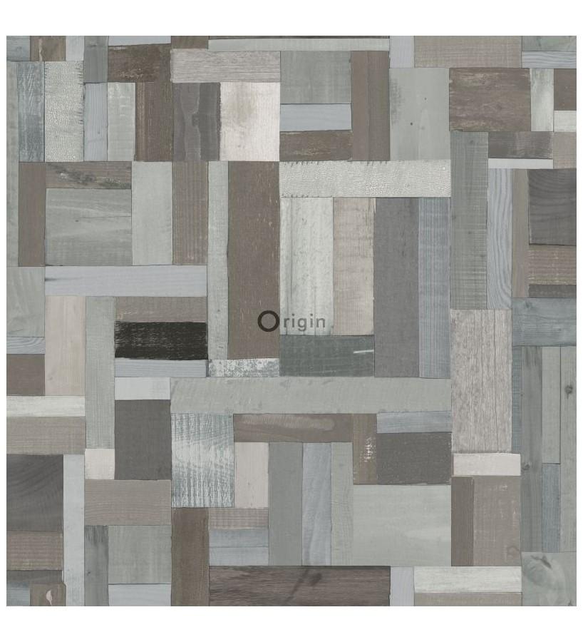Papel pintado Origin Matieres Wood 337223