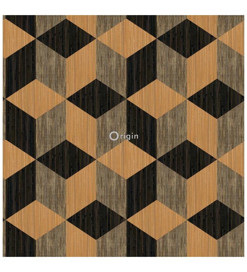 Papel pintado Origin Matieres Wood 357215