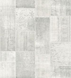 Papel pintado mosaico textil estilo boho Boho Mosaic 676889