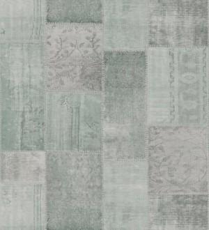 Papel pintado mosaico textil estilo boho Boho Mosaic 676890